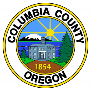 Columbia County Oregon Color Logo