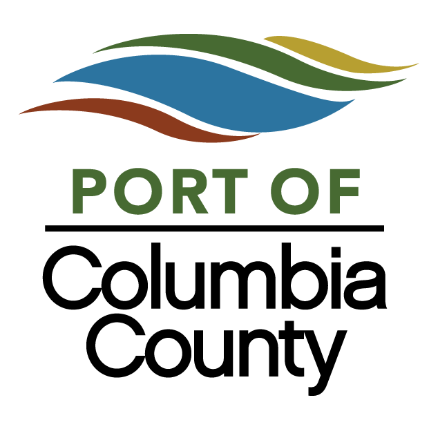 Port of Columbia County Logo