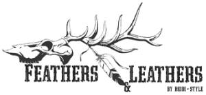 feathers and leathers logo