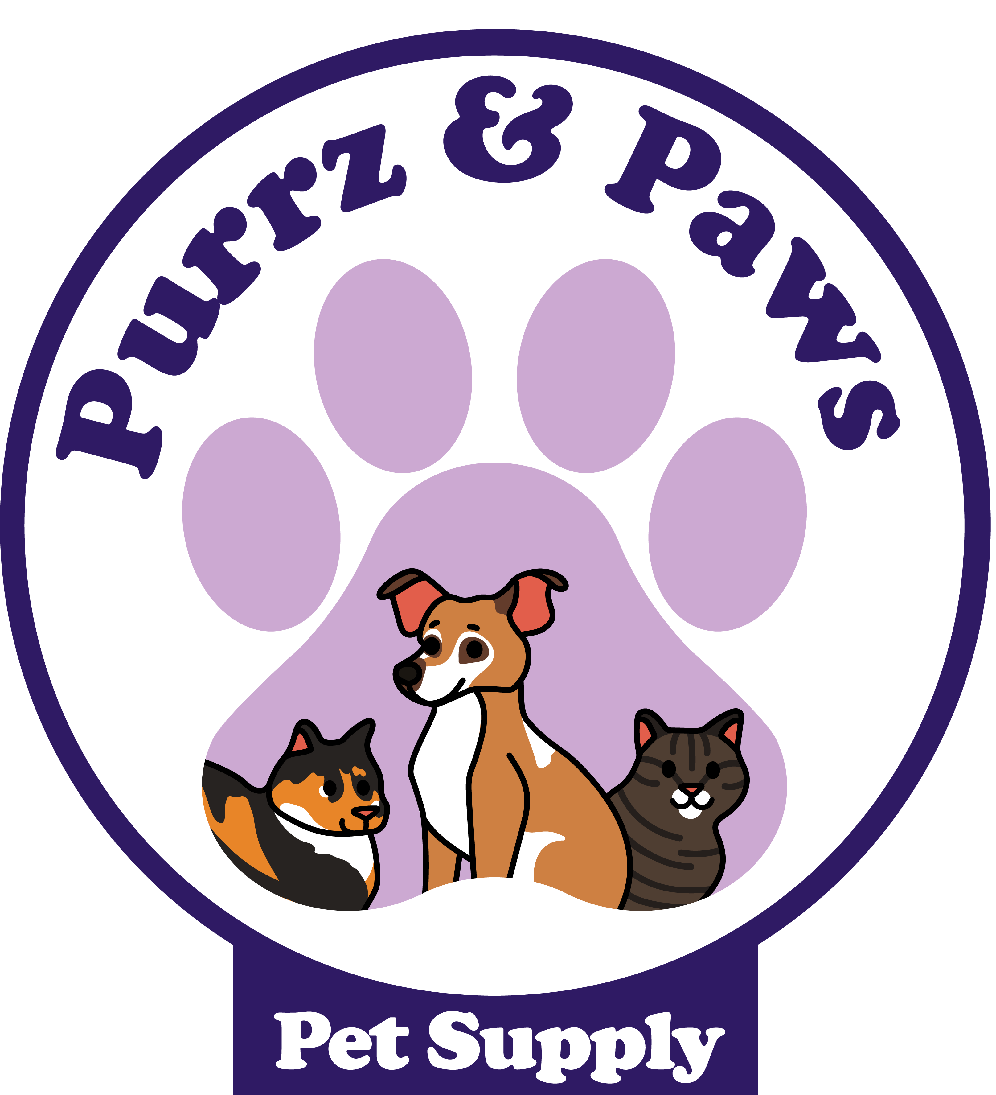 Purrz and Paws Logo