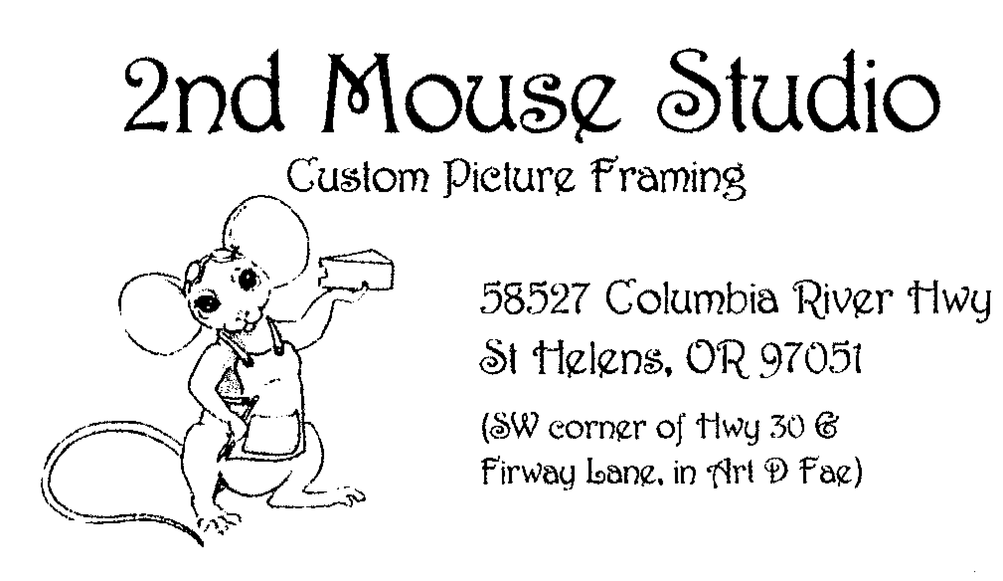 2nd mouse studio logo