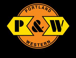 Portland & Western Railroad (PNWR) logo